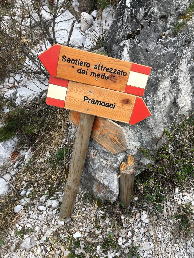 """sentiero per il Tudaio """"dei mede"""""""