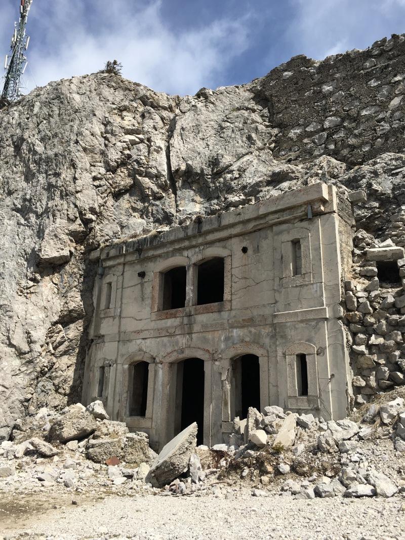 fortificazioni sul m. Tudaio