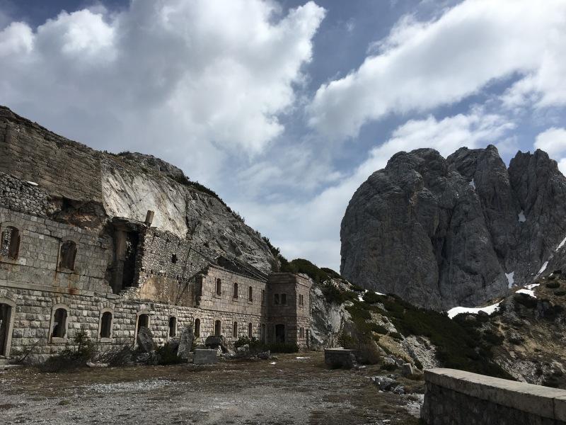 fortificazioni sul m. Tudaio e cima Bragagnina