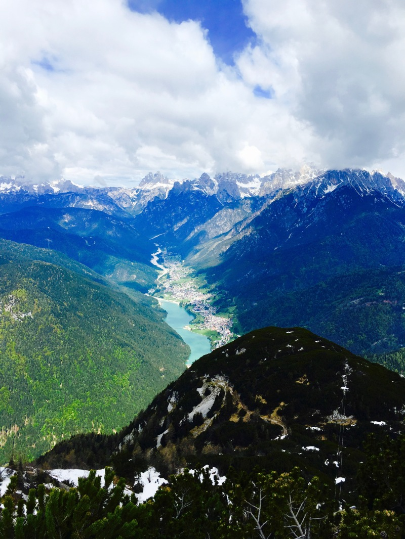 valle di Auronzo dal m. Tudaio