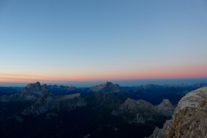 alba dalla Tofana di mezzo (Cortina)